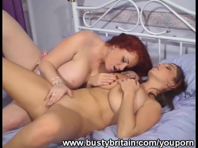 Boobs lesbians big Playboy model
