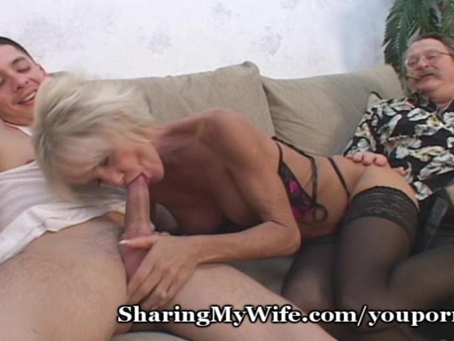 Blonde Milf Younger Guy