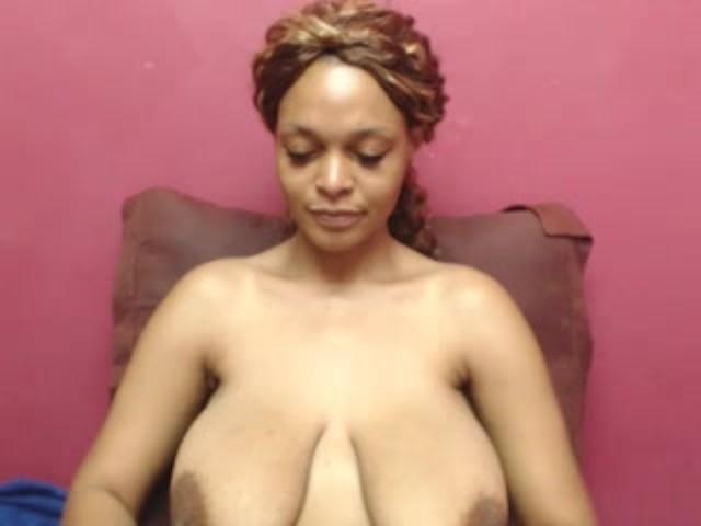 Ebony Big Tits Homemade