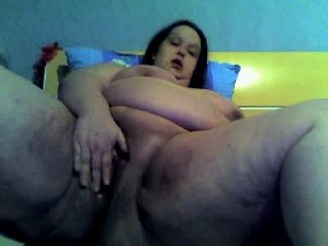 Bbw Fat Mature Masturbating