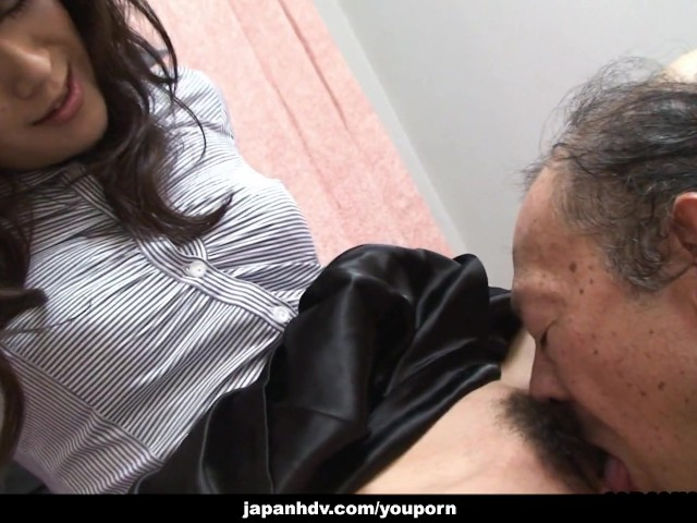 Old Man Plays Young Girl