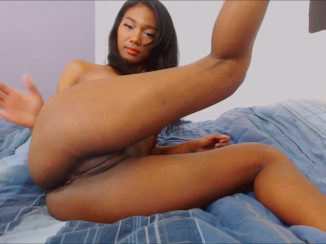 Ebony Dorm Room Masturbation