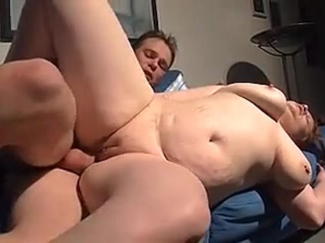 Red Head Big Tits Facial