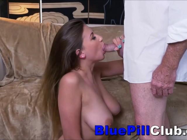 Big Natural Tits Teen Old Man