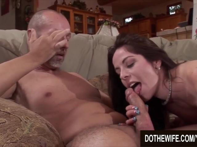 Husband Watches Latina Wife