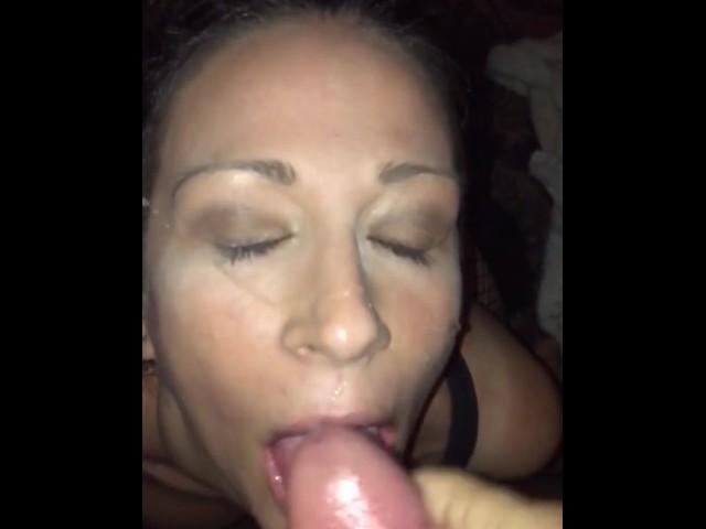 Step Sister Cumshot Facial
