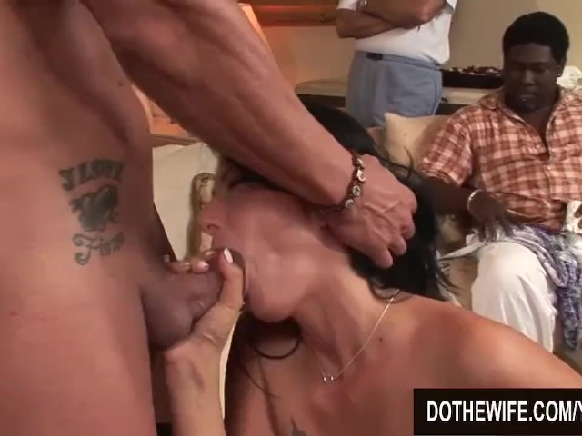 Wife Takes Two Cumshots