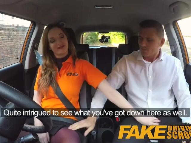 Jasmine Jae Fake Driving