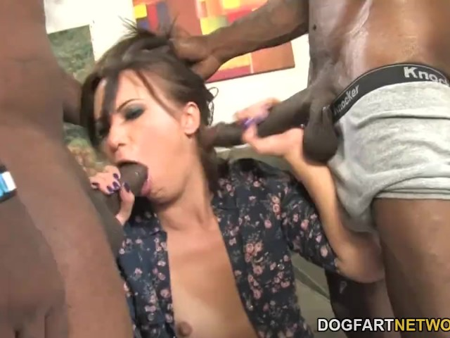 Lesbian strap on anal video galleries