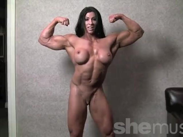Bodybuilder Girl Nude