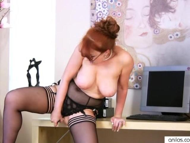 Redhead Big Tits Black Dick