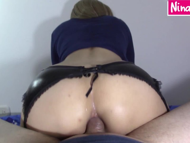 Reverse Cowgirl Creampie Anal