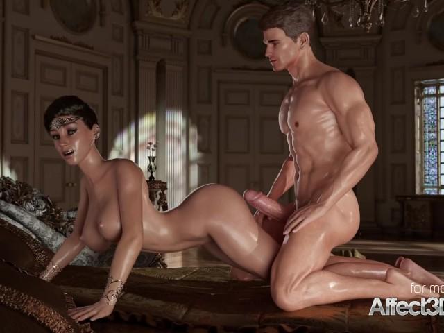 Порно 3d Принцесса