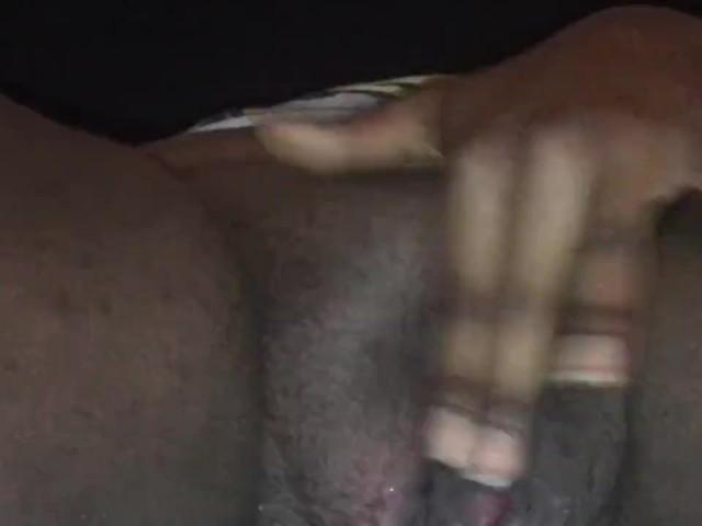Ebenholz Riesiger Dildo Orgasmus