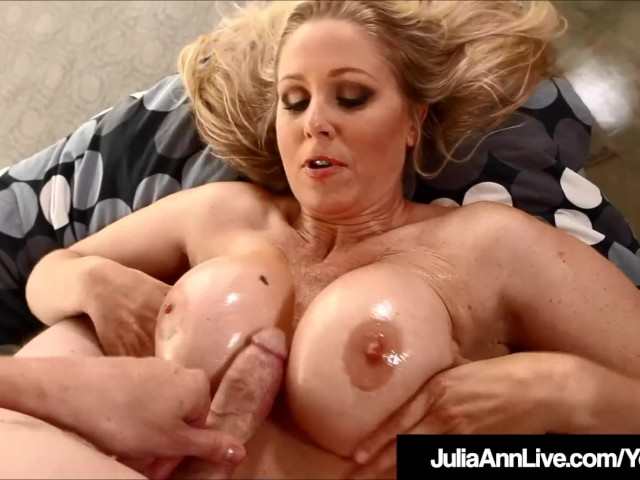 Boy Licking Julia Ann Pussy