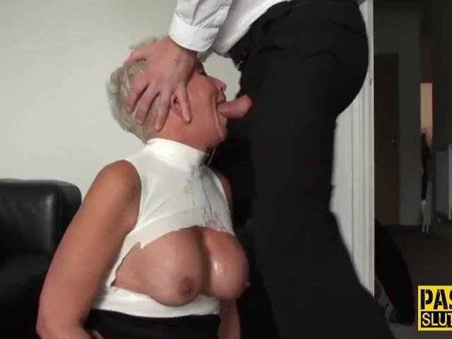 Secretaries flashing pussies in pantyhose