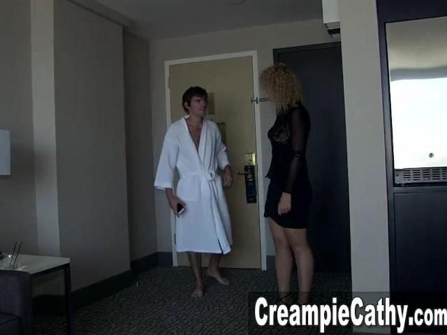 Young German Milf Creampie
