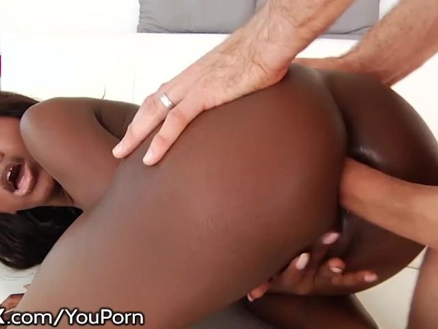 Ebony Bbw White Dick Pov