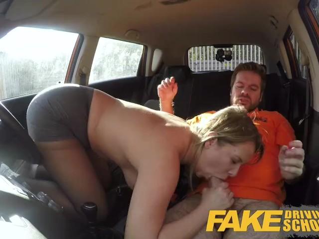 Fake Driving School Orgasm