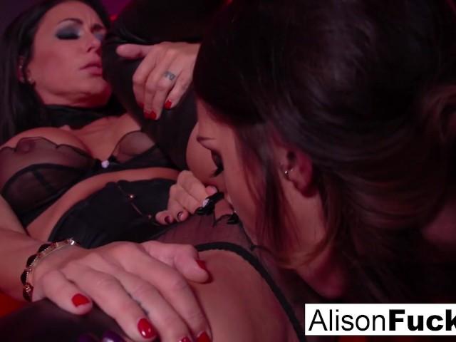 Alison Tyler Lesbisch Strapon