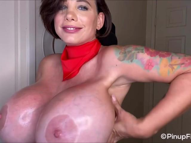 Pov Blonde Babe Big Tits