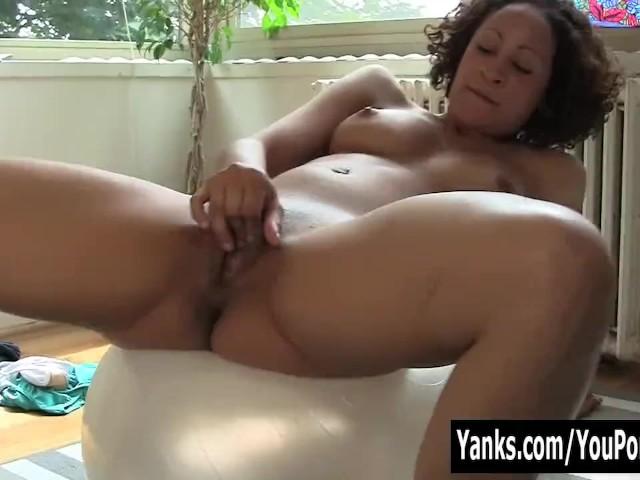Sexy Ebenholz Frauen Masturbieren