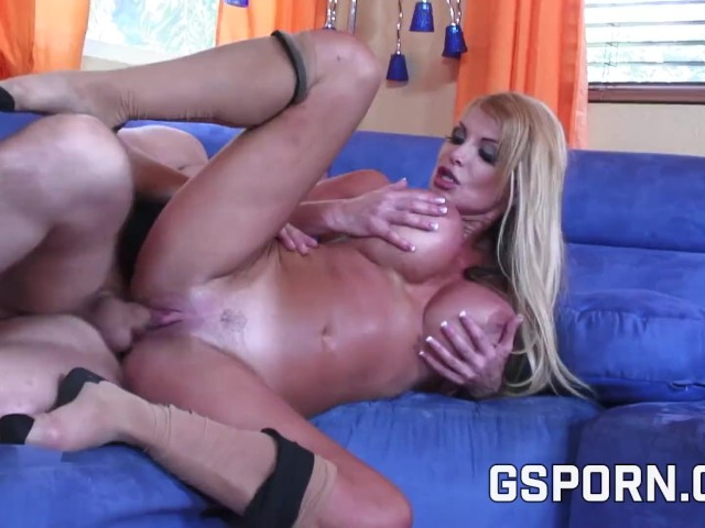 Blonde Bombshell Big Tits