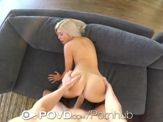 Skinny Blonde Fucked Big Dick