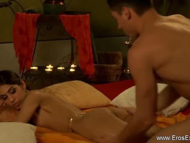Ebenholz Muschi lecken Orgasmus
