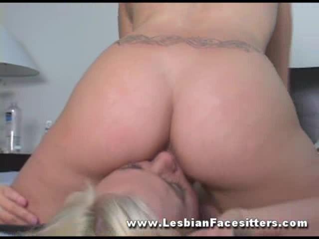 Lesbian Sisters Ass Licking