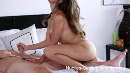 Casting Couch Blondine Große Titten