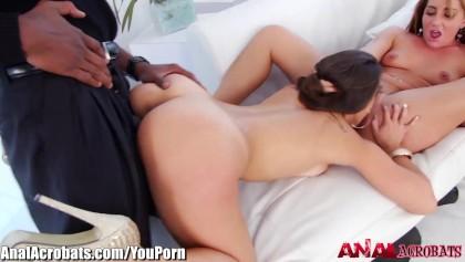 AnalAcrobats Kelsi Monroes Big Black Cock 3Some - Free XXX Porn ...