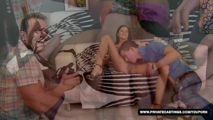 Our casting is Eli's first time porn scene
