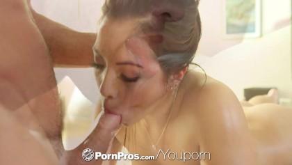 PornPros - جميل جرايسي داي يحصل فرك أسفل التدليك مع الجانب ديك ...