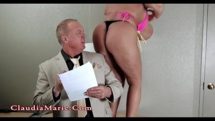 Huge Tit Claudia Marie: Fat Ass Twerking Anal