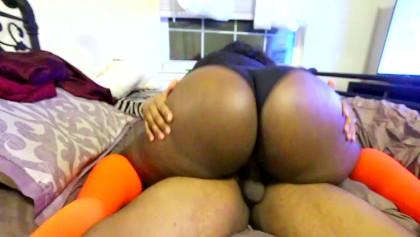 Black Teen Rides Cock So Good And Orgasm
