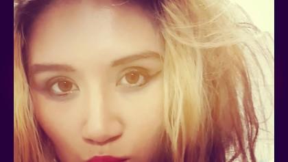 De kont van de Russische schoonheid Lindsey Olsen geneukt