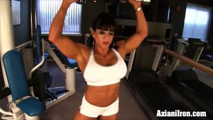 Klitoris Bodybuilder ficken Große Bodybuilder Große