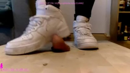 Nike Air Force 1 cock crush - Princess Anastasia