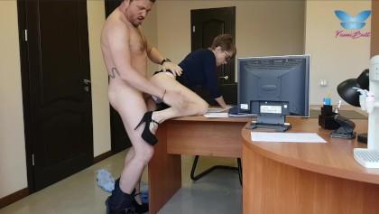 Blowjob Chef Büro Sekretärin Diese Sekretärin