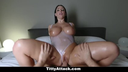 Angela Weiß Pov Blowjob