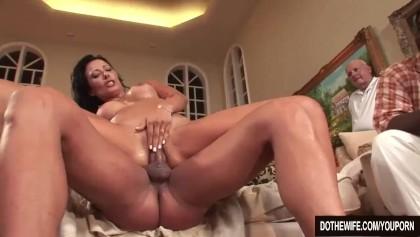 Sexe en face du foyer