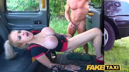 Cheating Girlfriend Fake Taxi