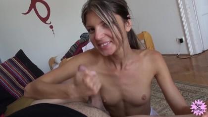 Tiefe Creampie Teen Skinny Thief Sex
