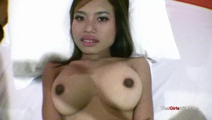 Little Asian cum queen blasted by hard cock