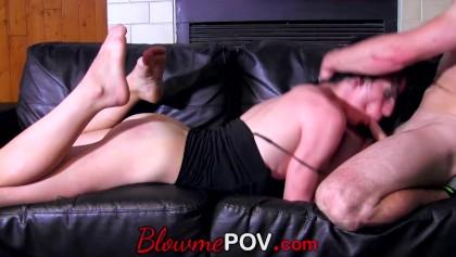 Blow ME POV - Hardcore fast Blowjob for Amateure