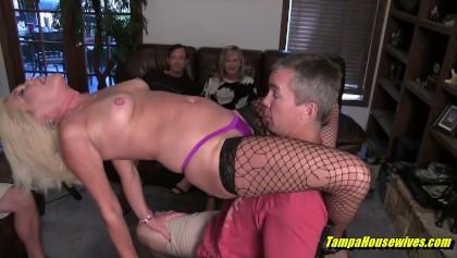 Ebenholz Stripper gefickt Club