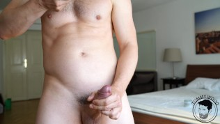 Euro Jock Solo with Huge Cumshot and Measuring Tape Tommy Wood