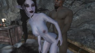 Dark Elf Gets Fucked By An Orc Skyrim Porn