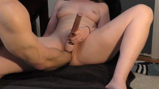 Caught my girl hiding a vibrator...Had to Fist that Pussy and slap it up!